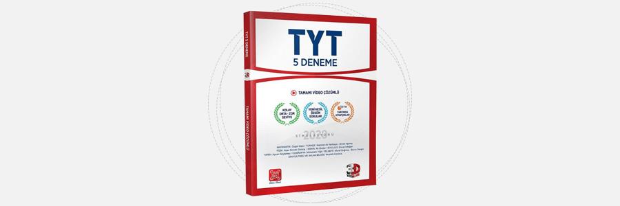 TYT 5 Deneme 2020 Simülasyonu - 3D Yayınları 1