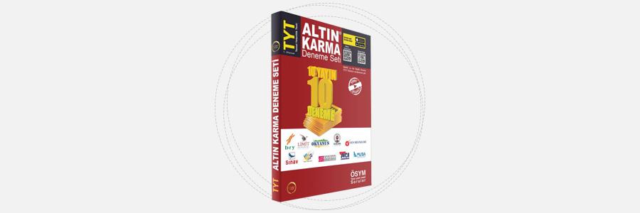 TYT Altın Karma Deneme Seti - Altın Karma Yayınları 17