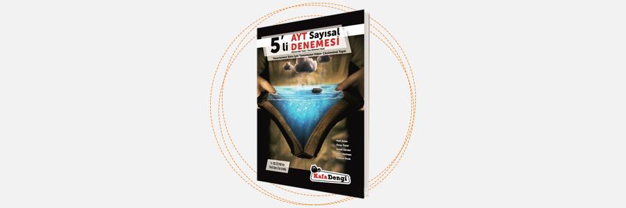 AYT 5'li Sayısal Denemesi - Kafadengi Yayınları