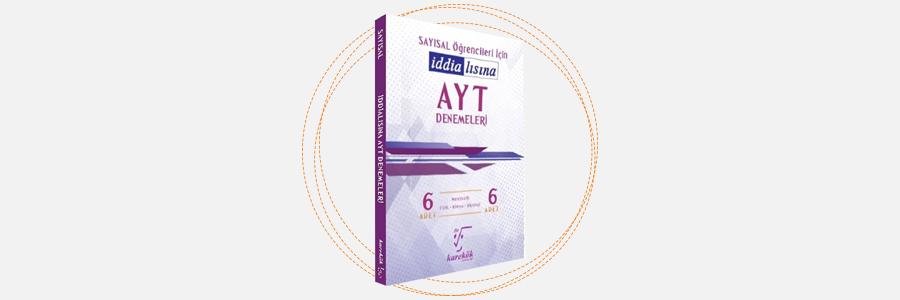AYT 6'lı Denemeleri Sayısal Öğrencileri İçin - Karekök Yayınları 3