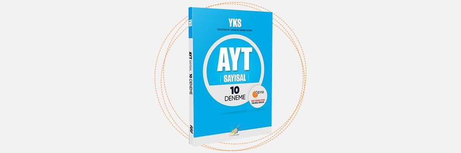 AYT Sayısal 10 Deneme - FDD Yayınları 13