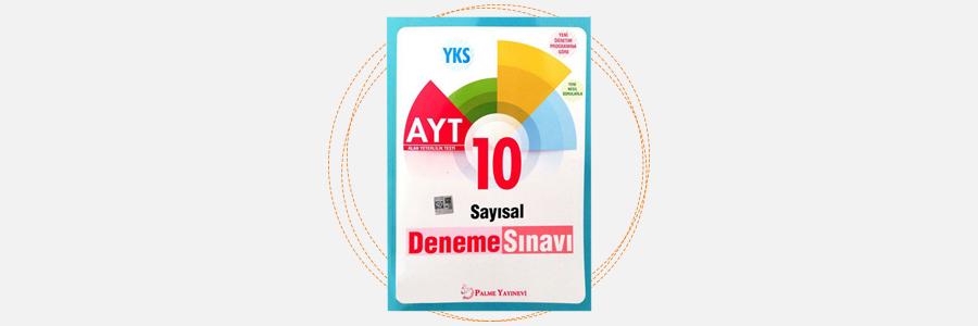 AYT Sayısal 10 Deneme Sınavı - Palme Yayınları 5