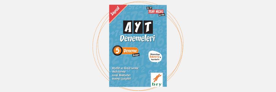 AYT Sayısal 5 Deneme - Birey Yayınları 7