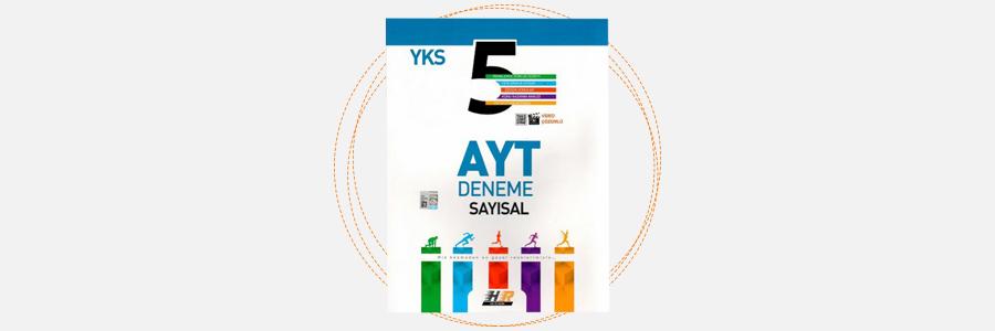 AYT Sayısal 5'li Deneme - Hız ve Renk Yayınları 4