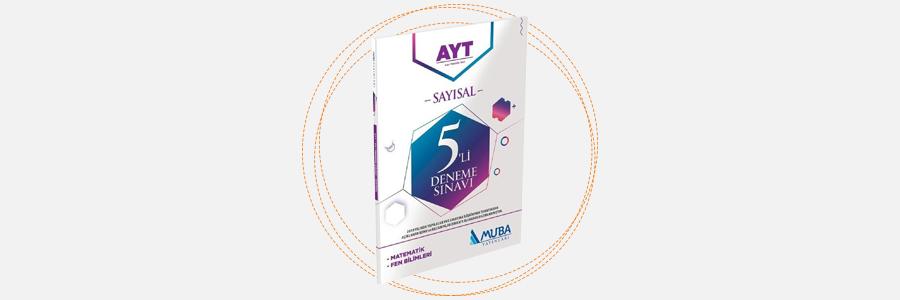 AYT Sayısal 5'li Deneme Sınavı - Muba Yayınları 8