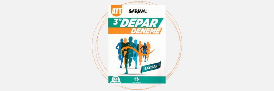 AYT Sayısal Sarmal 3'lü Depar Deneme - Bilgi Sarmal Yayınları