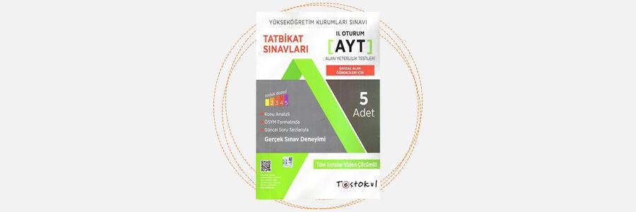 AYT Sayısal Tatbikat Sınavları - Test Okul Yayınları 6