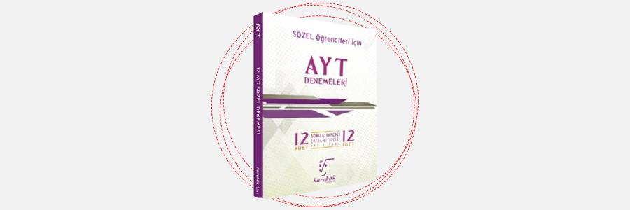 AYT Sözel 12'li Denemeleri - Karekök Yayınları