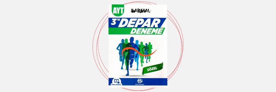 AYT Sözel Sarmal 3'lü Depar Deneme - Bilgi Sarmal Yayınları