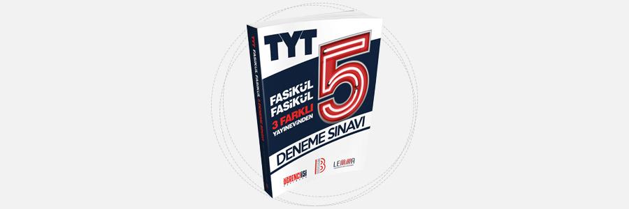 TYT 3 Farklı Yayınevinden 5 Fasikül Deneme-Benim Hocam Yayınları 14