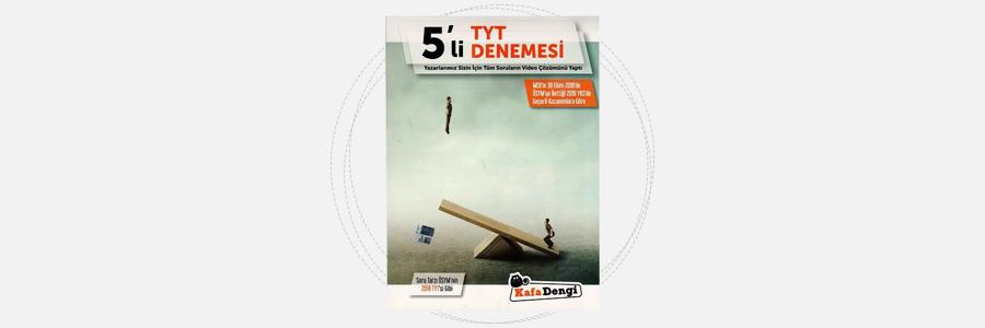 TYT 5'li Deneme - Kafadengi Yayınları 8