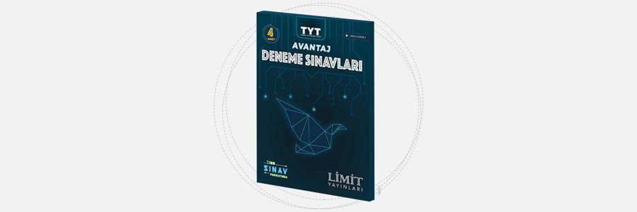 TYT Avantaj 4'lü Deneme Sınavları - Limit Yayınları 3