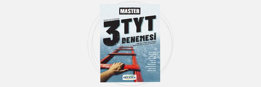 TYT Master 3 Deneme - Okyanus Yayınları 11