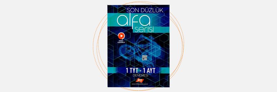 TYT AYT Son Düzlük Alfa Serisi Deneme - MF Kazanım Yayınları