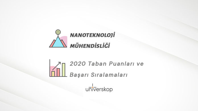 Nanoteknoloji Mühendisliği Taban Puanları ve Sıralamaları 2020