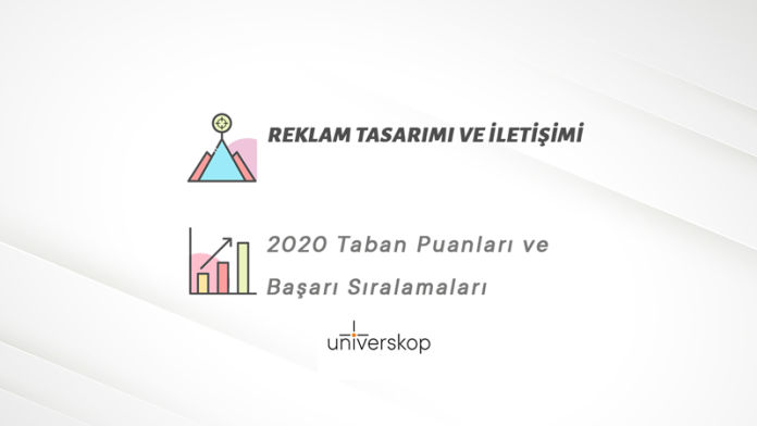 Reklam Tasarımı ve İletişimi Taban Puanları ve Sıralamaları 2020
