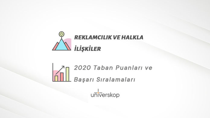 Reklamcılık ve Halkla İlişkiler Taban Puanları ve Sıralamaları 2020
