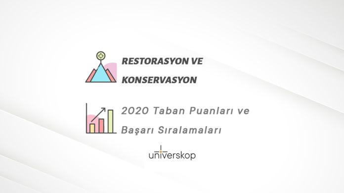 Restorasyon ve Konservasyon Taban Puanları ve Sıralamaları 2020