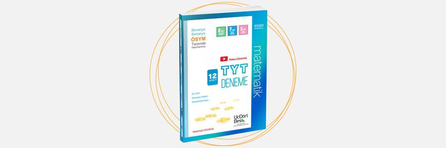 TYT 12 Adet Matematik Deneme ÜçDörtBeş Yayınları