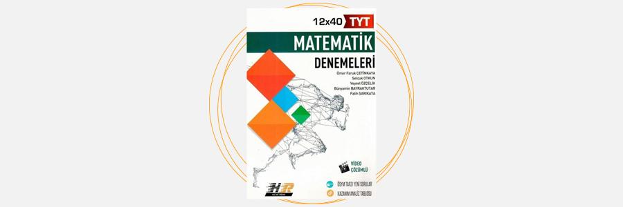 TYT Matematik 12x40 Denemeleri Hız ve Renk Yayınları 11
