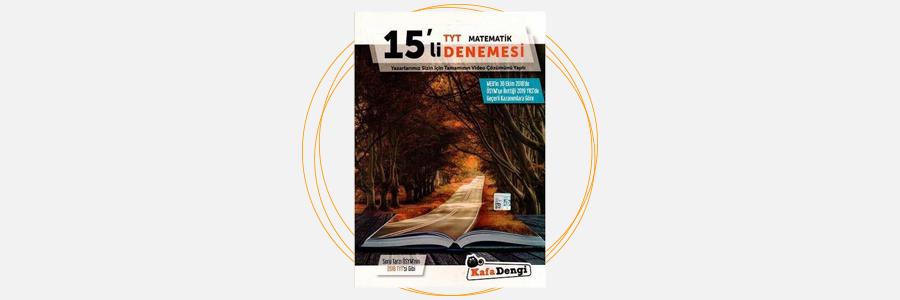 TYT Matematik 15'li Denemesi Kafa Dengi Yayınları 8