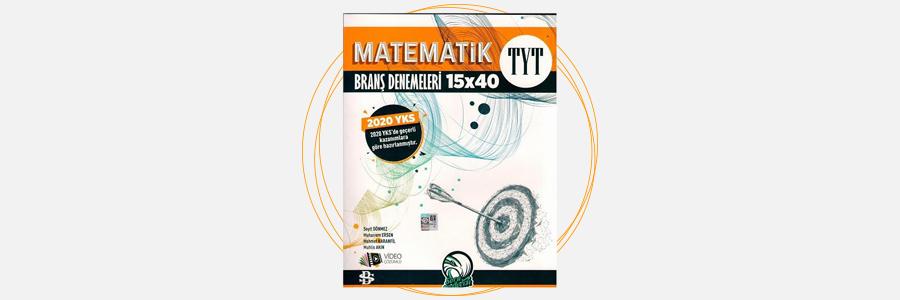 TYT Matematik Branş Denemeleri Bilgi Sarmal Yayınları 1
