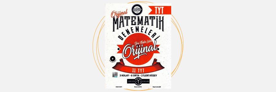 TYT Orijinal Matematik 11'li Denemeleri Orijinal Yayınları 5
