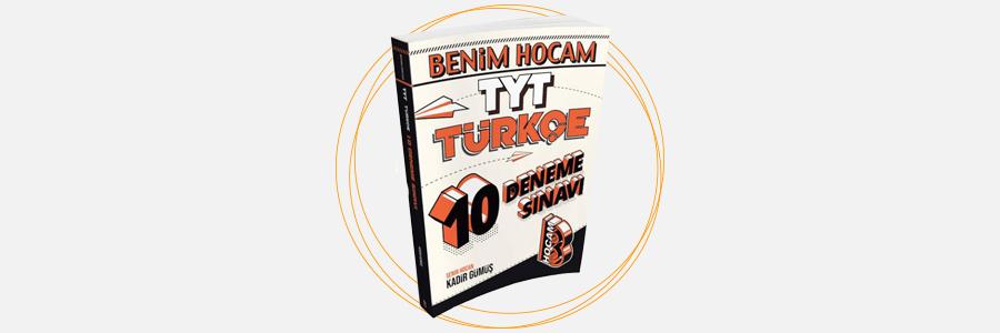 TYT Türkçe 10 Deneme Sınavı Benim Hocam Yayınları 13