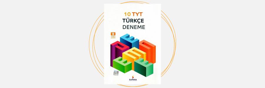 TYT Türkçe 10 Deneme Supara Yayınları 17