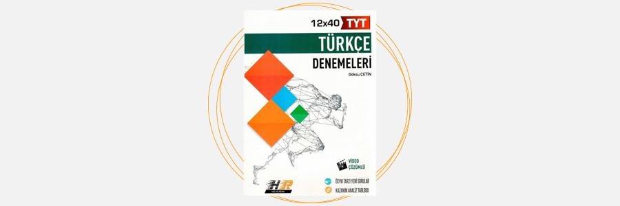 TYT Türkçe 12x40 Denemeleri Hız ve Renk Yayınları 12