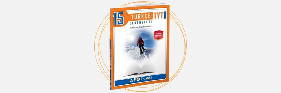 TYT Türkçe 15 Çözümlü Deneme Apotemi Yayınları 7