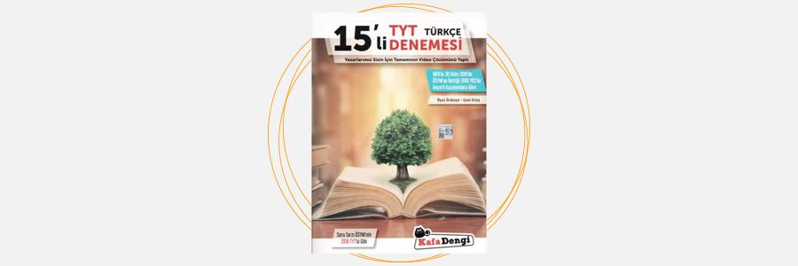 TYT Türkçe 15'li Denemesi Kafa Dengi Yayınları 5