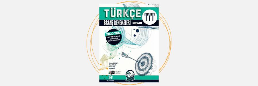 TYT Türkçe Soru Avcısı Branş Denemeleri Bilgi Sarmal Yayınları 2
