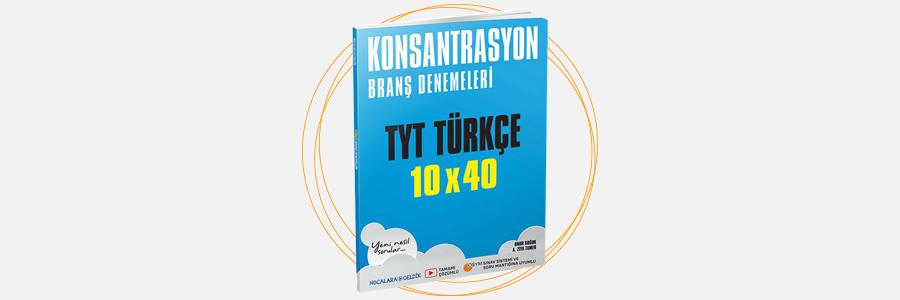 TYT Türkçe Konsantrasyon Branş Denemeleri Hocalara Geldik 14