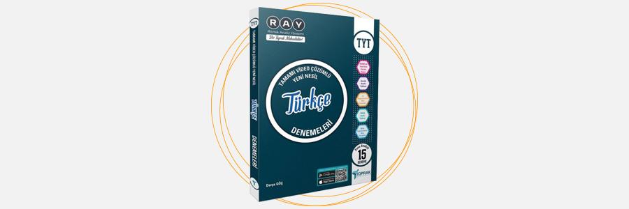 TYT Türkçe Ray 15'li Denemeleri Toprak Yayıncılık 6