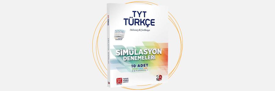 TYT Türkçe Simülasyon Denemeleri 3D Yayınları 4