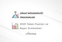 Ziraat Mühendisliği Programları Taban Puanları ve Sıralamaları 2020