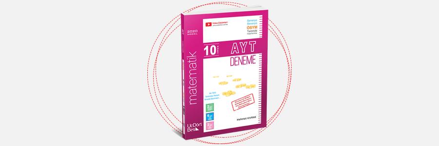AYT 10'lu Matematik Denemeleri ÜçDörtBeş Yayınları 2