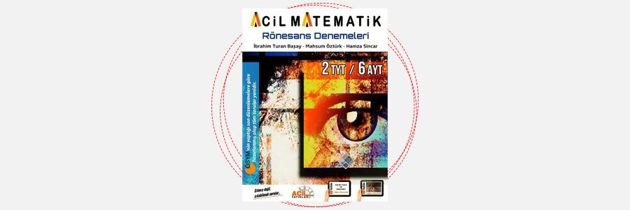 AYT Acil Matematik Rönesans Denemeleri Acil Yayınları 1
