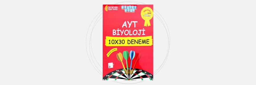 AYT Biyoloji 10x30 Deneme Akıllı Adam Yayınları 10