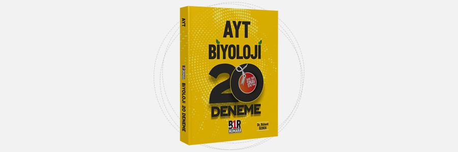 AYT Biyoloji 20 Deneme Bir Numara Yayınları 9