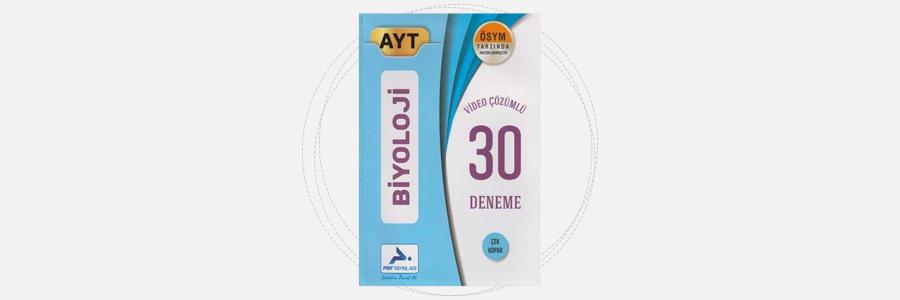 AYT Biyoloji 30 Deneme PRF Paraf Yayınları 5