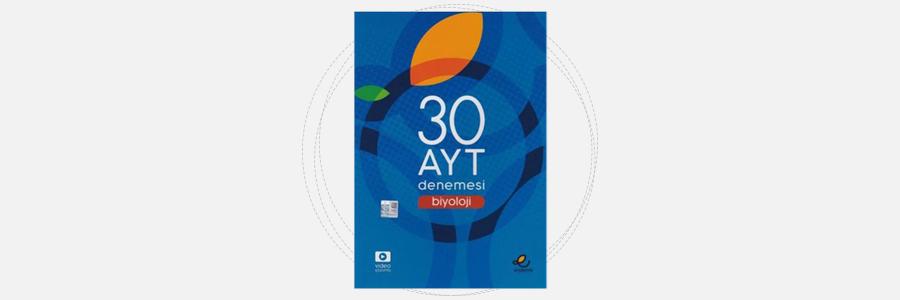 AYT Biyoloji 30 Denemesi Endemik Yayınları 6