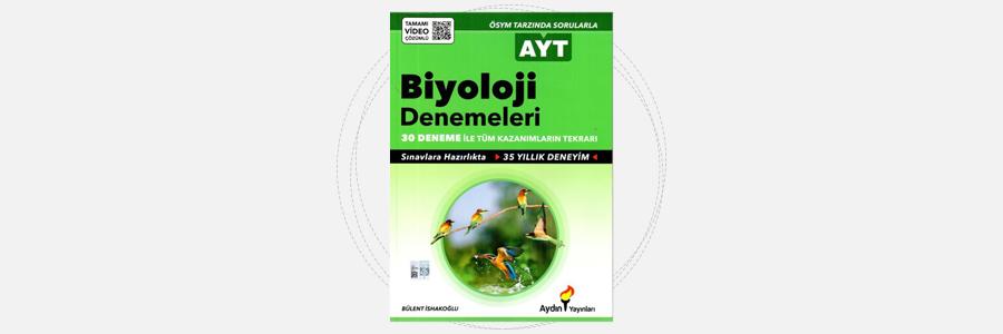 AYT Biyoloji 30'lu Denemeleri Aydın Yayınları 2