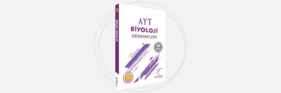 AYT Biyoloji Denemeleri Karekök Yayınları 3