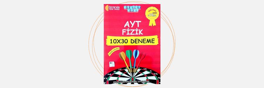 AYT Fizik 10x30 Deneme Akıllı Adam Yayınları 16