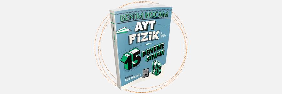 AYT Fizik 15 Deneme Sınavı Benim Hocam Yayınları 10