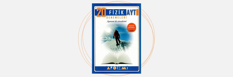 AYT Fizik 20'li Denemeleri Apotemi Yayınları 5