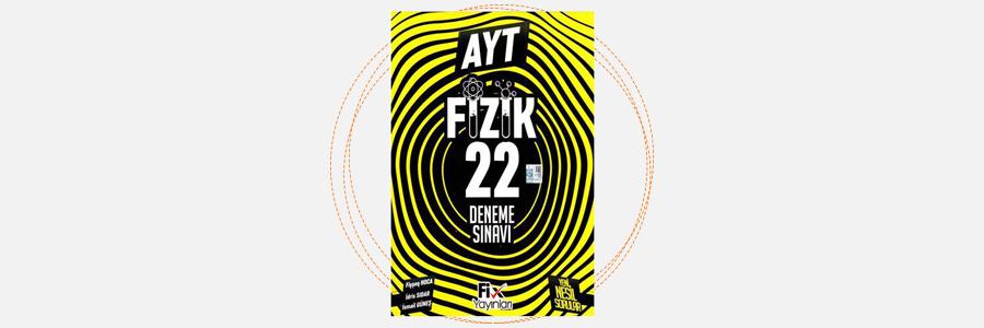 AYT Fizik 22'li Deneme Sınavı Fix Yayınları 14