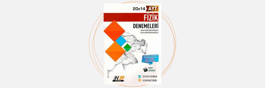AYT Fizik 24x14 Denemeleri Hız ve Renk Yayınları 11